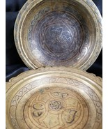 Islamic Brass Copper Silver Middle Eastern Bowls  18th-19th century Intr... - $275.83
