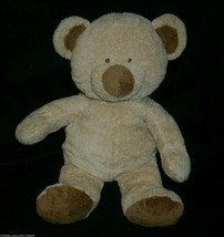 """12"""" Ty Pluffies Brown Teddy Bear Love To Baby Stuffed Animal Plush Toy 2004 2005 - $9.50"""