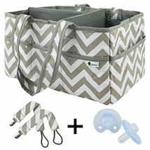 Kudlelteck Unisex Baby Diaper Caddy Organizer - 11 Roomy Pockets - Porta... - $39.45