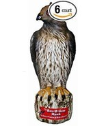 New! Bird B Gone RED TAILED HAWK 17 Decoy Ornamental Scarecrow Pest Help... - $34.38