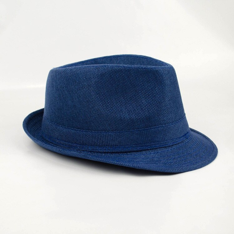 2018 Brand New Fashion Floppy Jazz Hat Pure Men Women's Large Brim Caps England  image 4