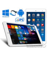 """8"""" Inch Cube Dual OS Android 5.1 & Windows 10 TABLET PC 32GB Intel Z8300... - $145.99"""