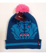 Nike Lebron James King Lion Knit Cuff Beanie with Pom Pom Youth Boys 8-2... - $29.69