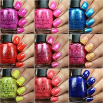 Opi Spring Summer **Brights** Neon Nail Polish Lacquer Collection *U Pick Color* - $6.91+