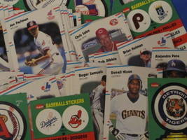 1988 Fleer Baseball 22 Logo Stickers & 132 Trading Cards image 4