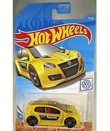2019 Hot Wheels #19 Volkswagen VOLKSWAGEN GOLF GTI Yellow Variant - Momo... - €5,70 EUR
