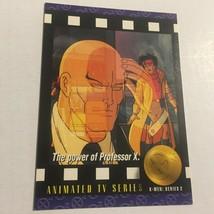 1993 Marvel Animated TV Series Power of Professor X Trading Card #97 - $2.99