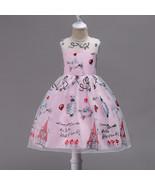 Newly Pricess Girls Formal Dress O-Neck Wedding Flower Girl Dresses Ball... - $45.33