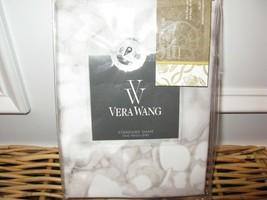 2 Vera Wang Water Flower Standard Shams New - $96.95