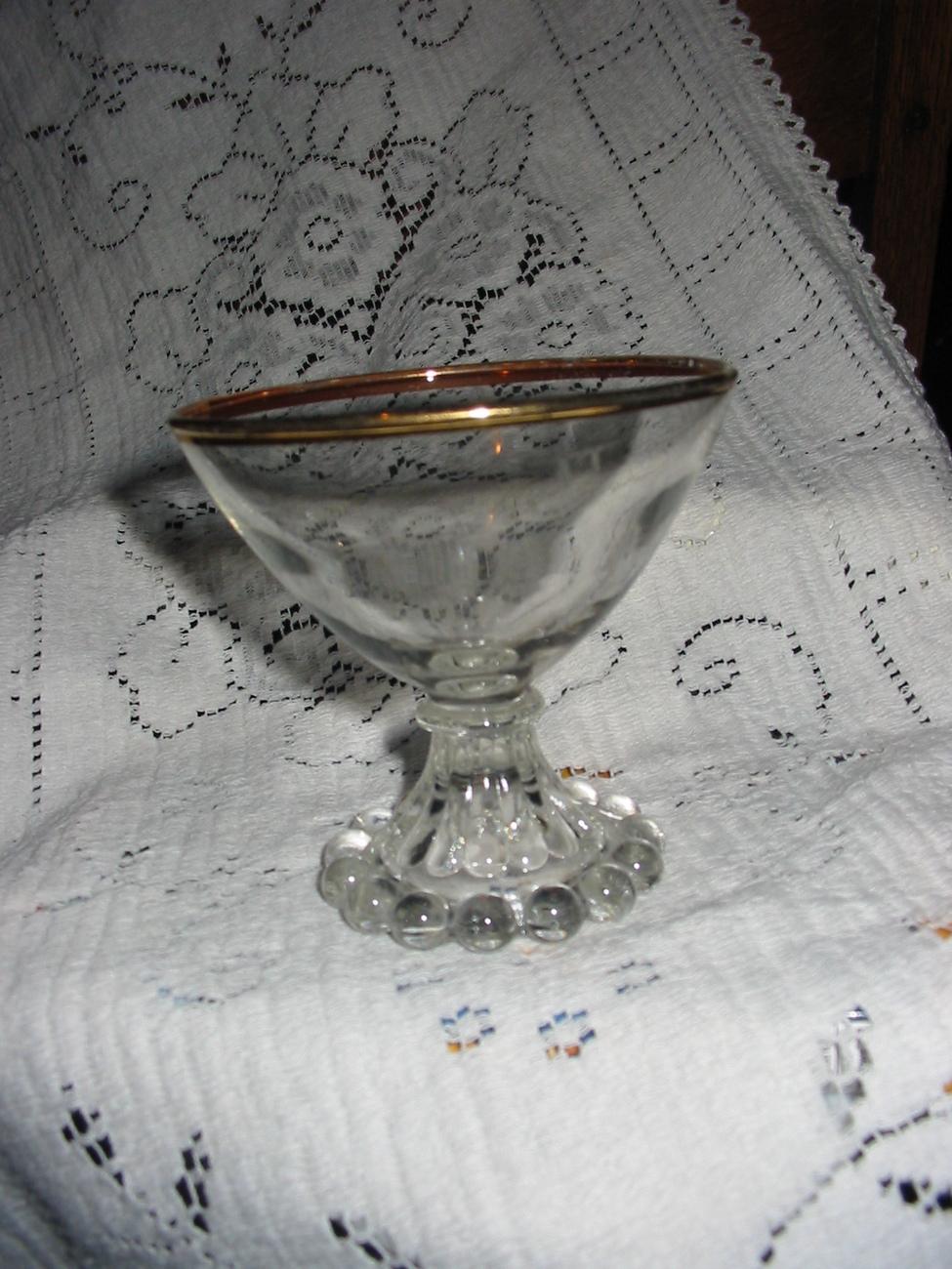Boopie glass low sherbet  3