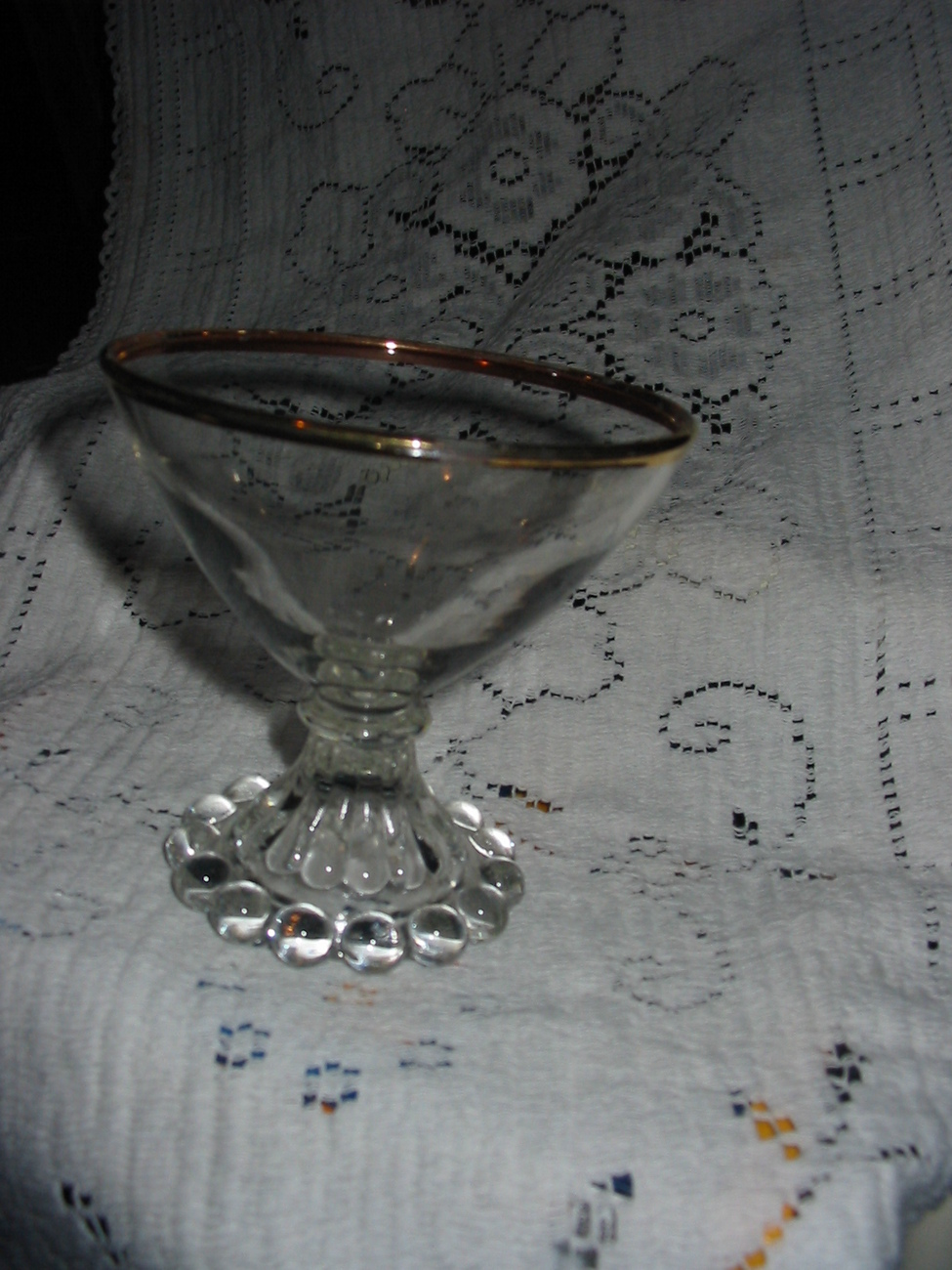 Anchor Hocking Boopie Low sherbets glasses set of 2