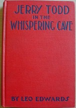 JERRY TODD IN THE WHISPERING CAVE #7 hc Leo Edwards author of Trigger Be... - $12.00