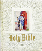 Holy Bible Pictorial Pronouncing Dictionary Ribbon Alphabetical Index (LR) - $25.73