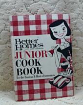 Vintage Better Homes & Gardens New Junior Cookbook // 1960's - $8.50