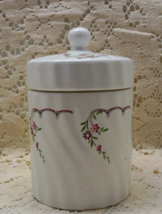Vintage Jamestown China Action Porcelain Tea Canister // Dry Food Storage - $12.25