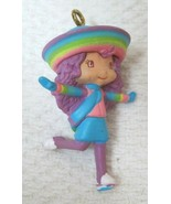 "2005 Rainbow Sherbet Christmas Ornaments Mini 1 1/2"" Strawberry Shortcak... - $9.90"