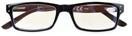 Reduces Eyestrain,Anti Blue Rays,UV Protection,Wood Temple,Computer Reading - $46.12