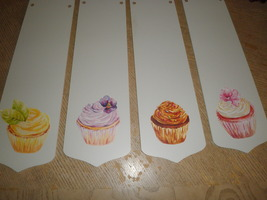 """CUSTOM ~ 42"""" SWEET CUPCAKE CEILING FAN WITH LIGHT ~ DECORATED CUPCAKES P... - $99.99"""