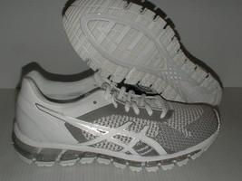 Asics Womens Running Shoes Gel Quantum 360 Mesh White Snow Silver 8 USA - $136.98