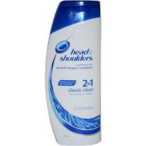 Head and Shoulders Classic Clean Dandruff Shampoo 23.7 ounces Pack of 8 - $148.98