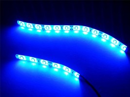 Blue Waterproof Motorcycle LED Light Strip kit 5630 Brightest LED's! - $9.47+