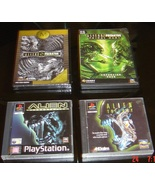 ALIEN TRILOGY+RESSURECTION+ALIENS VS PREDATOR2+PRIMAL HUNT - $100.00