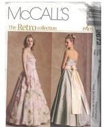 2672 Non Tagliati Mccalls Cartamodello Misses The Retrò Collezione 594ms... - $15.01