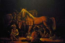 "36"" x 24"" Native American NAVAJO~Artist Origina... - $699.00"