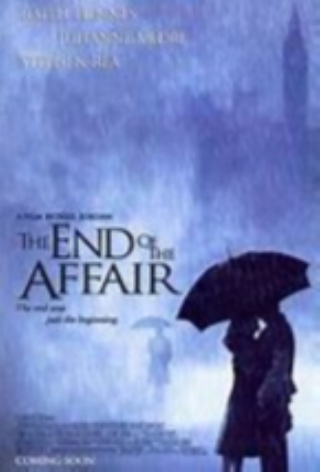 End of the Affair Vhs