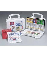 10 Unit 46 Piece Unitized ANSI First Aid Kit Plastic Case with Gasket - $26.39