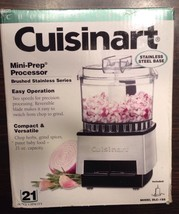 CUISINART MINI PREP FOOD PROCESSOR DLC-1SS 21 OZ BRUSHED METAL BRAND NEW... - $27.72