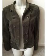 H&M Divided Blazer Olive Jacket Sz 8 - $9.99