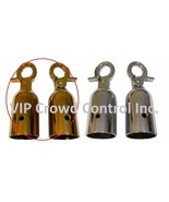 REPLACEMENT ROPE HOOK, 2 PCS SET IN GOLD FINISHED, VIP CROWD CONTROL - $14.84