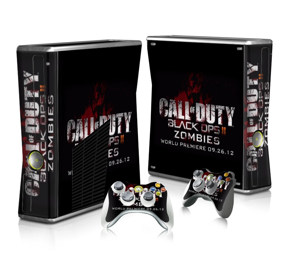 calll of duty black ops 2 zombies sticker skin for xbox. Black Bedroom Furniture Sets. Home Design Ideas