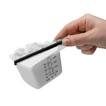 Dreamfarm Levups - Self-Leveling Measuring Cups, Set of 4 Black - $18.22