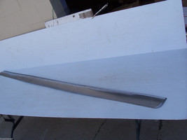 1972 Continental Right Rocker Trim Molding Panel Oem Used Lincoln 1971 1973 - $210.38