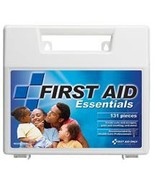 131 Piece All Purpose First Aid Kit Large Plastic Case - $17.11