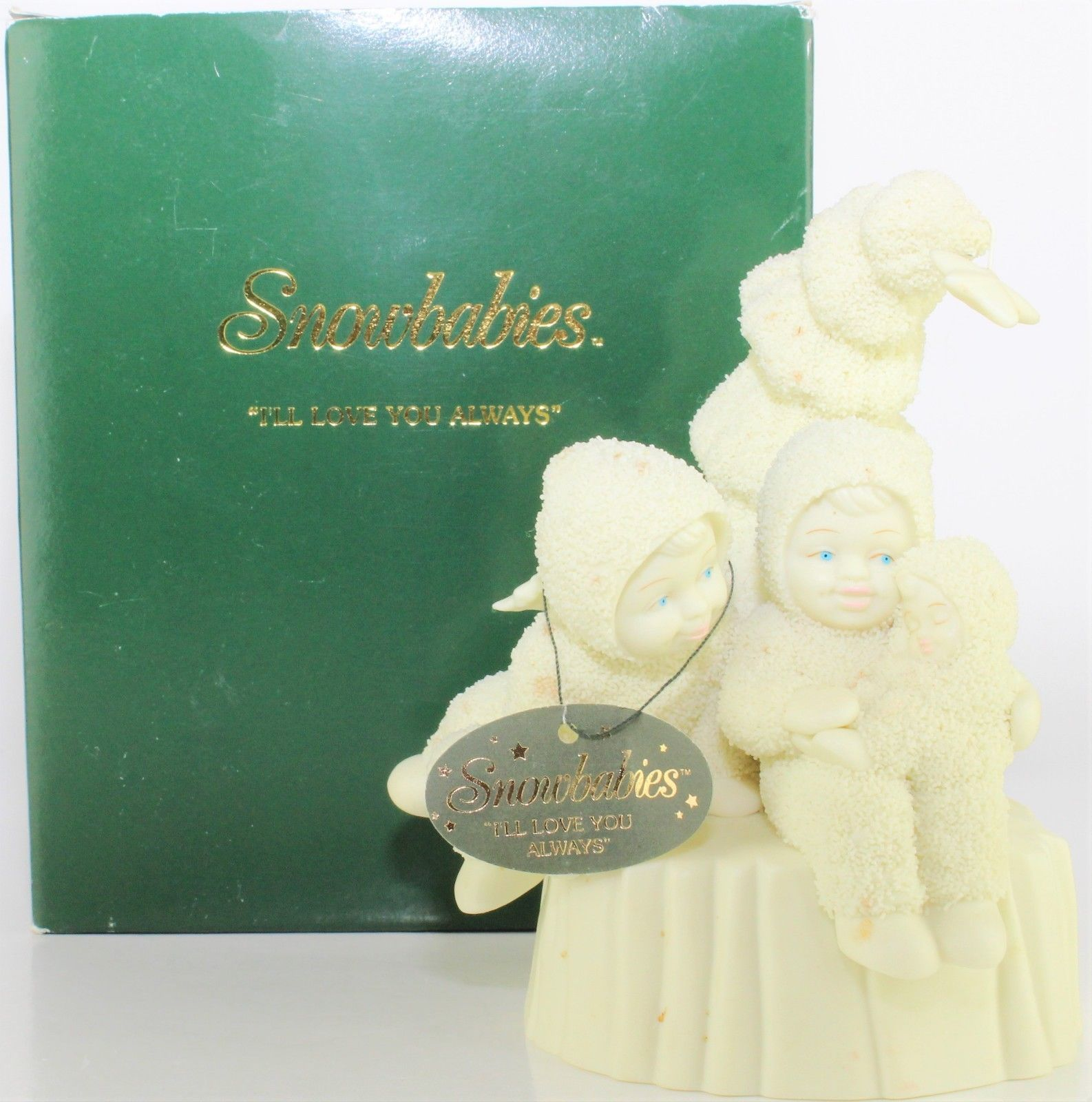 """*NEW* DEPT 56 ~RETIRED~ SNOWBABIES MINIATURE PEWTER /""""WISHING ON A STAR/"""""""