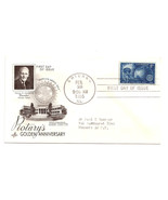 FDC Scott 1066  - 8 cent - Rotary's Golden Anni... - $1.49