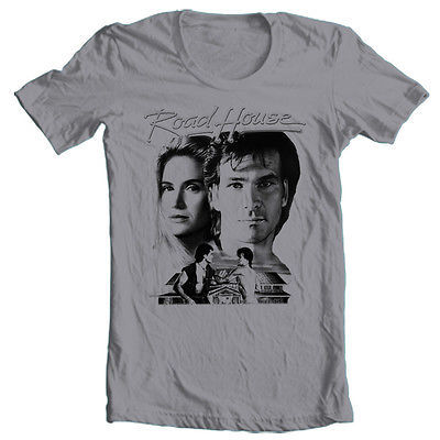 Road House T-shirt retro 1980's movie vinatge 100% cotton graphic printed tee