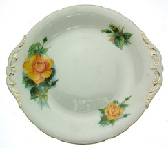 """Royal Standard or Roslyn Wheatcroft Roses Mme Ch Sauvage 10.5"""" Cake Plate - $42.97"""
