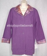 Jessica Holbrook Reversible Silk Jacket Small OOPS Sale from QVC - $19.33