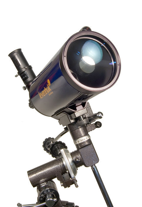 Discoverer Pro III Astrophotography Package- 105mm EQ2 MAK Telescope & Camera