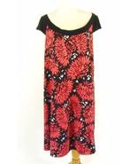 KSL Size 18W New Matte Jersey Floral Swing Dress - $21.99