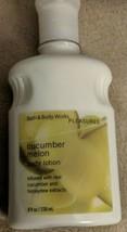 Bath & Body Works Cucumber Melon Body Lotion 8oz. New - $16.10