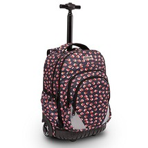 18 inches Multi-Compartment Waterproof Wheeled Rolling Backpack for Girl... - $92.58 CAD