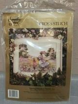 "Something Special Spring Meadow Scene Cross Stitch (50657) 18""x14"" - $28.49"