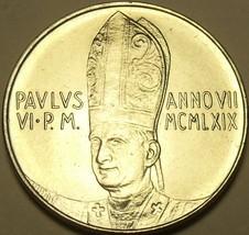 Rare Vatican 1969 F.A.O. 50 Lire~190,000 Minted... - $10.68