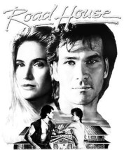 Road House T-shirt retro 1980's movie vinatge 100% cotton graphic printed tee image 2