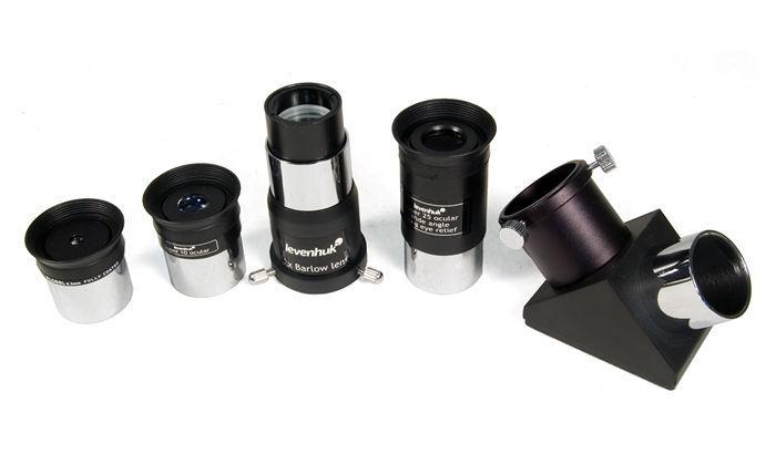 Discoverer Pro III Astrophotography Package- 105mm EQ2 MAK Telescope & Camera